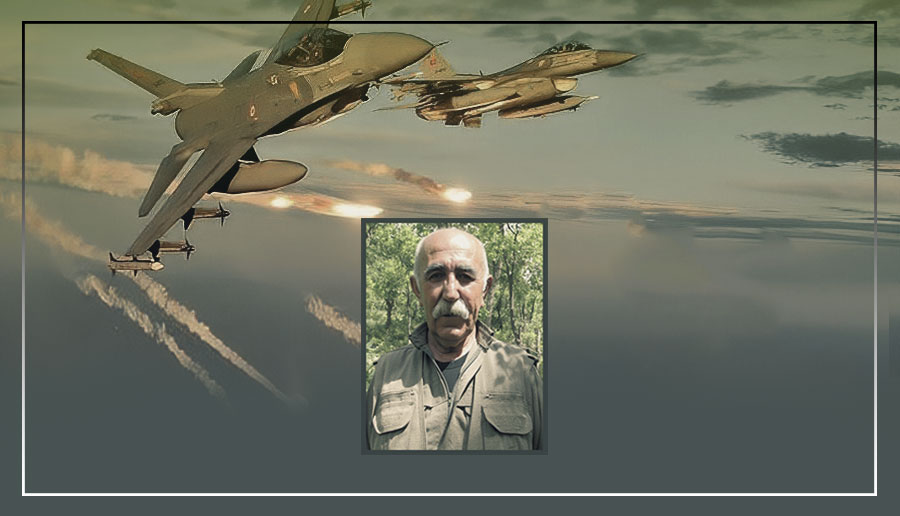 PKK kurucularından Ali Haydar Kaytan Türk ordusunun hava saldırısında hayatını kaybetti