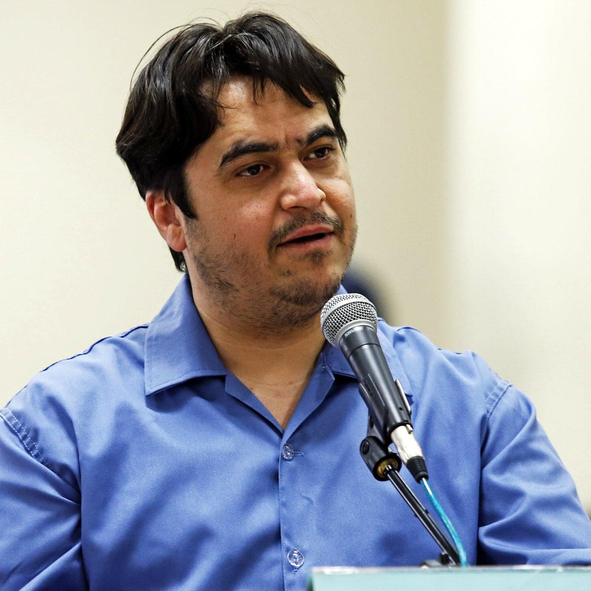 İran muhalif gazeteci Ruhullah Zam'ı idam etti, fransa, Mülteci AmadNews,