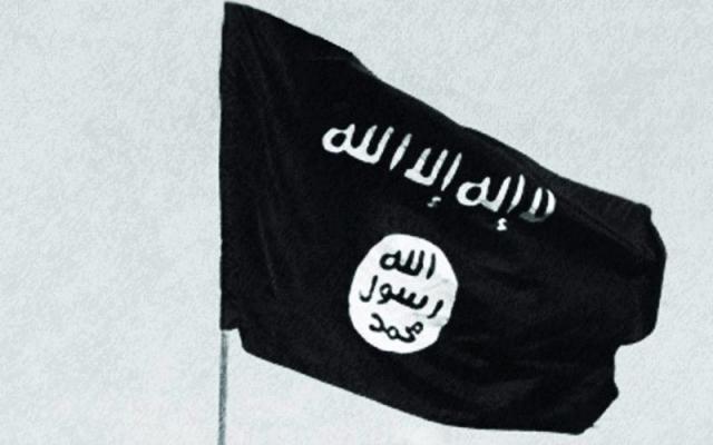 Süleymaniye'ye IŞİD bayrağı asıldı