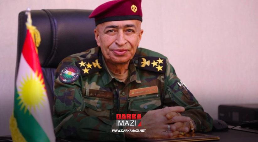 Tuğgeneral bir Peşmerge 2021 yılı Uluslararası Barış Elçisi seçildi, Tuğgeneral Salih Mewlüd Gerdi, Peşmerge Bakanlığı