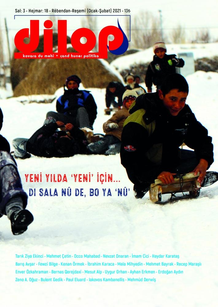 Dilop Dergisi'nin 18. sayısı çıktı