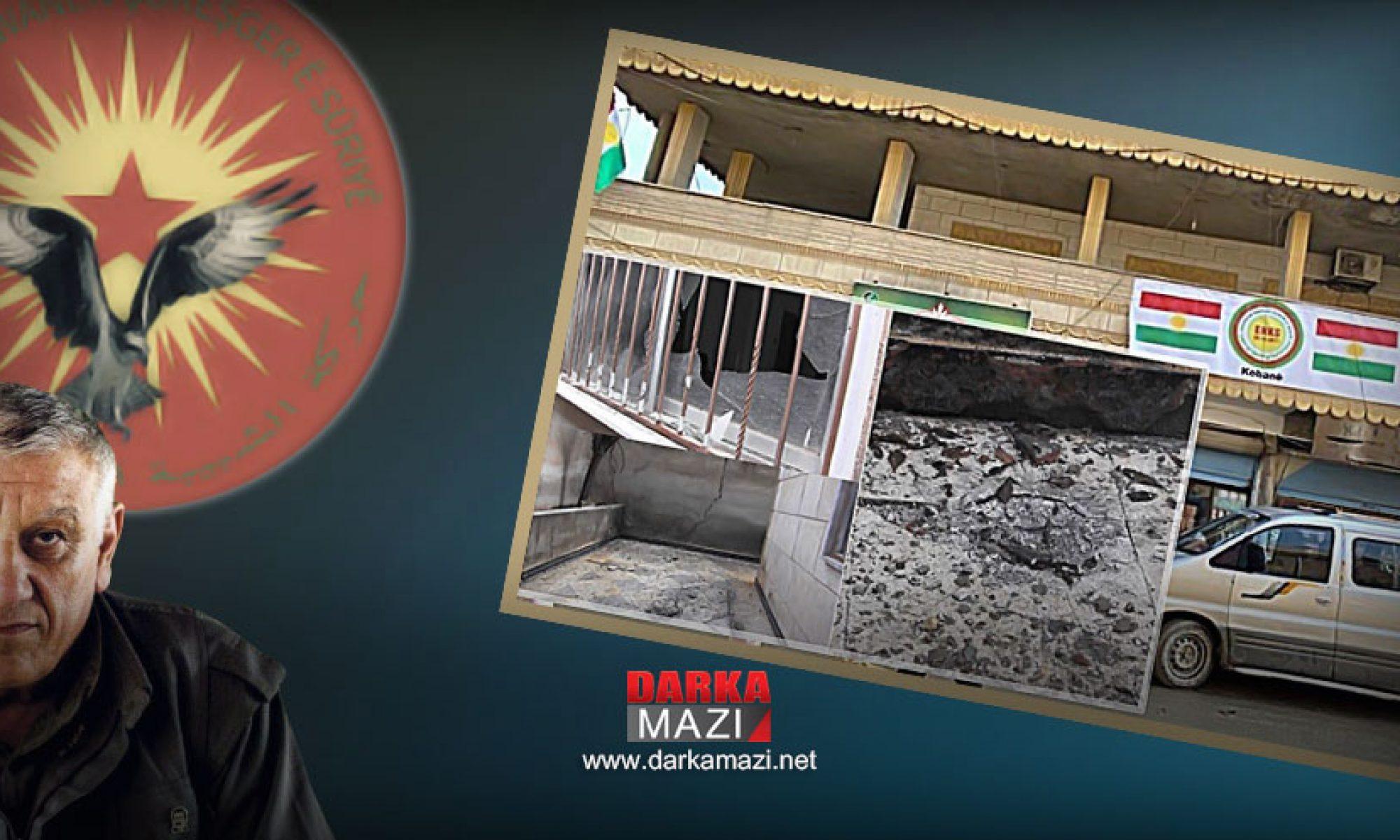Tewgera Cıwanen Şoreşger'den kontra eylemi: ENKS bürosuna bombalı saldırı