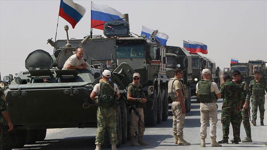 Rusya Kürt şehrine 300 asker gönderdi?
