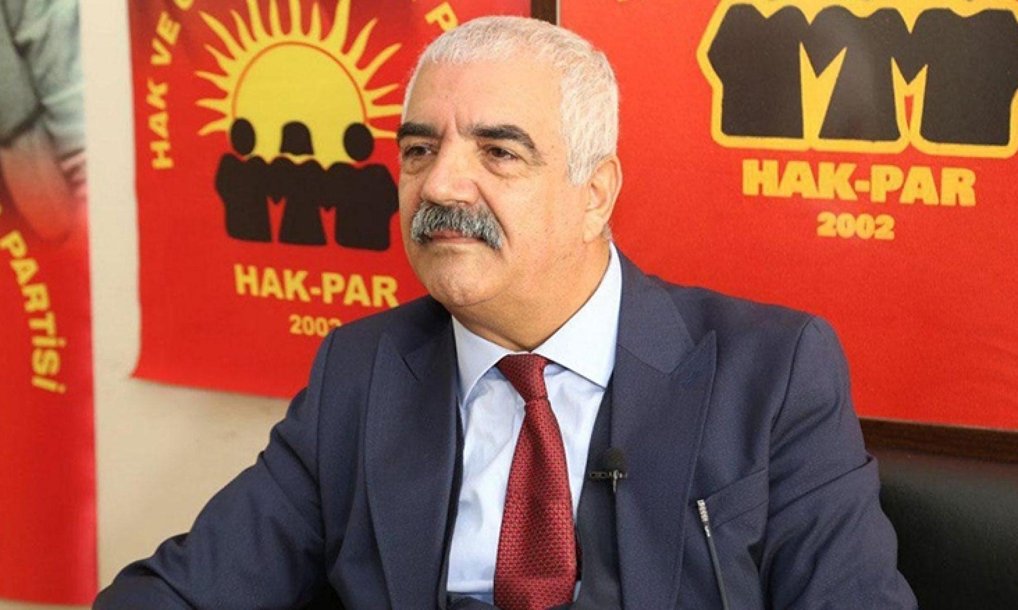 HAK-PAR Genel Başkanı Epözdemir: AKP veHDP'yi Kürtlerin temsilcisi olarak görmüyorum