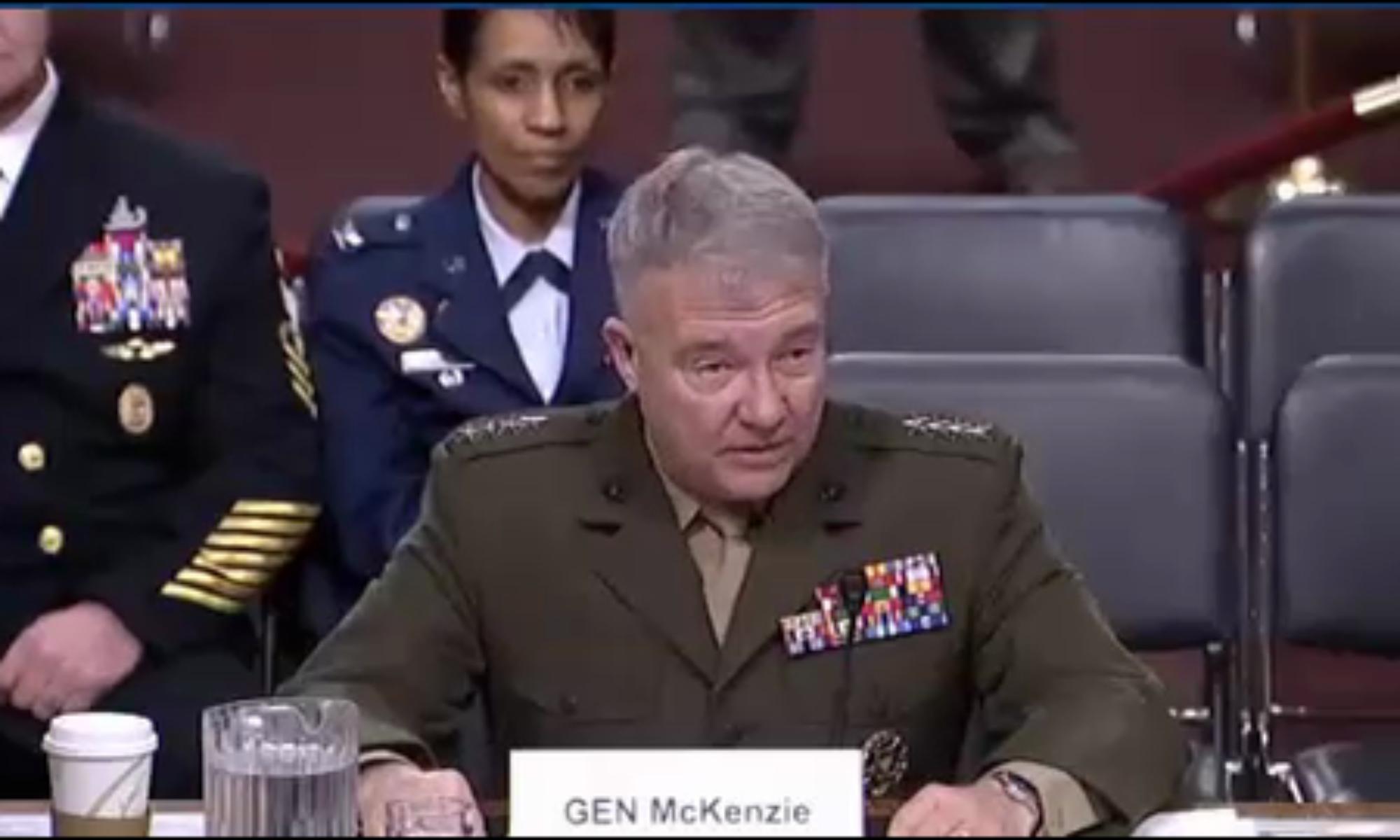 CENTOM Komutanı McKenzie: Suriye, Irak ve Yemen'de ki istikrarsızlığın ana nedeni İran'dır