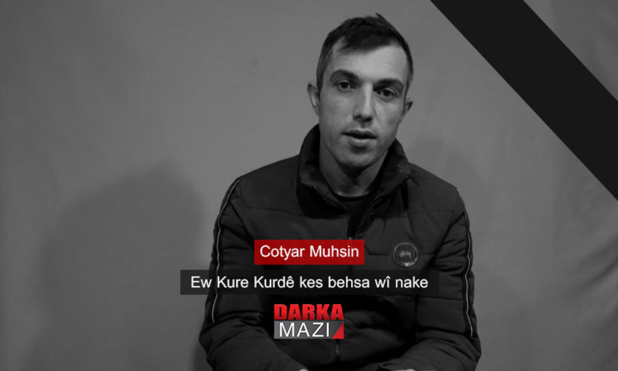 PKK tarafından esir alınan,Gare'de hayatını kaybeden Duhok'lu gencin cenazesi Kürdistan'a getirildi