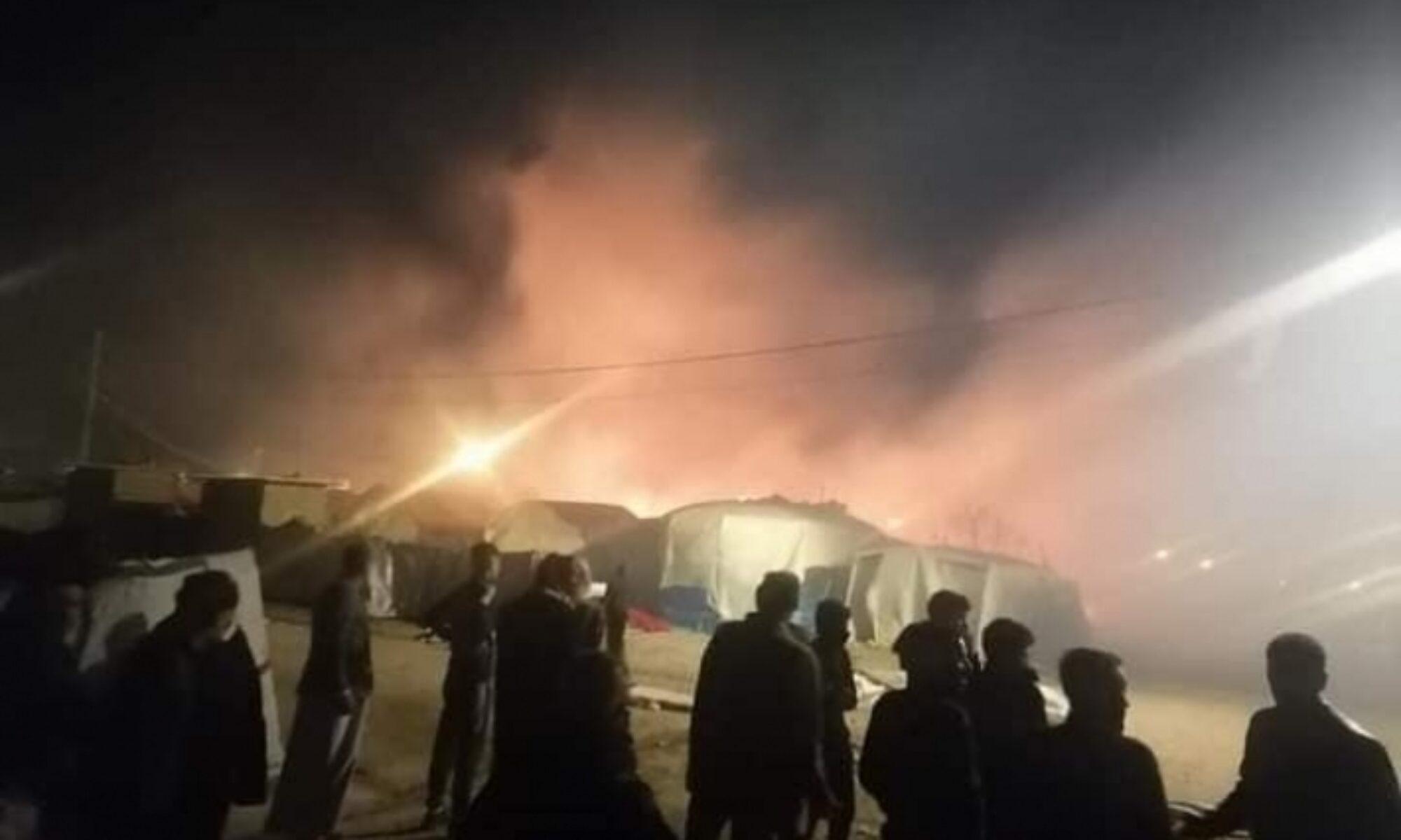 Zaxo'da çıkan yangında üç Ezidi Kürt hayatını kaybetti