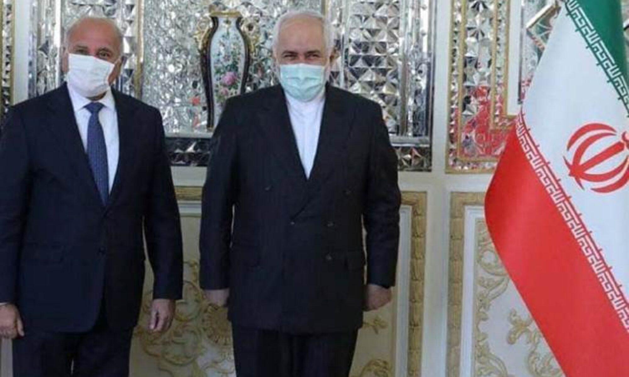 Irak Dışişleri Bakanı Fuat Hüseyin Tahran'da