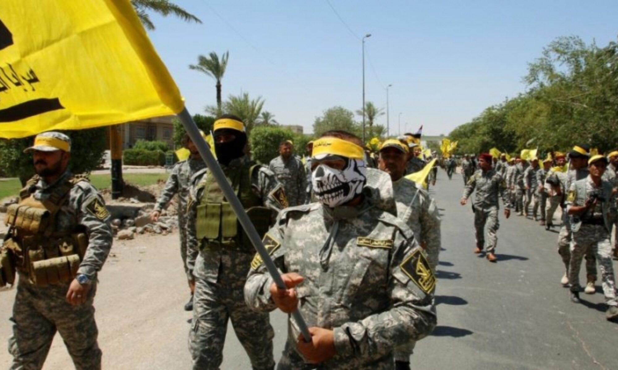 ABD'ye karşı intikam yemini ettiler Haşdi Şabi, Nuceyba, Esaib Ehli El Hak