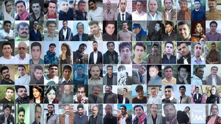 İran'da sadece Ocak ayında 115 Kürt siyasi nedenlerle gözaltına alındı
