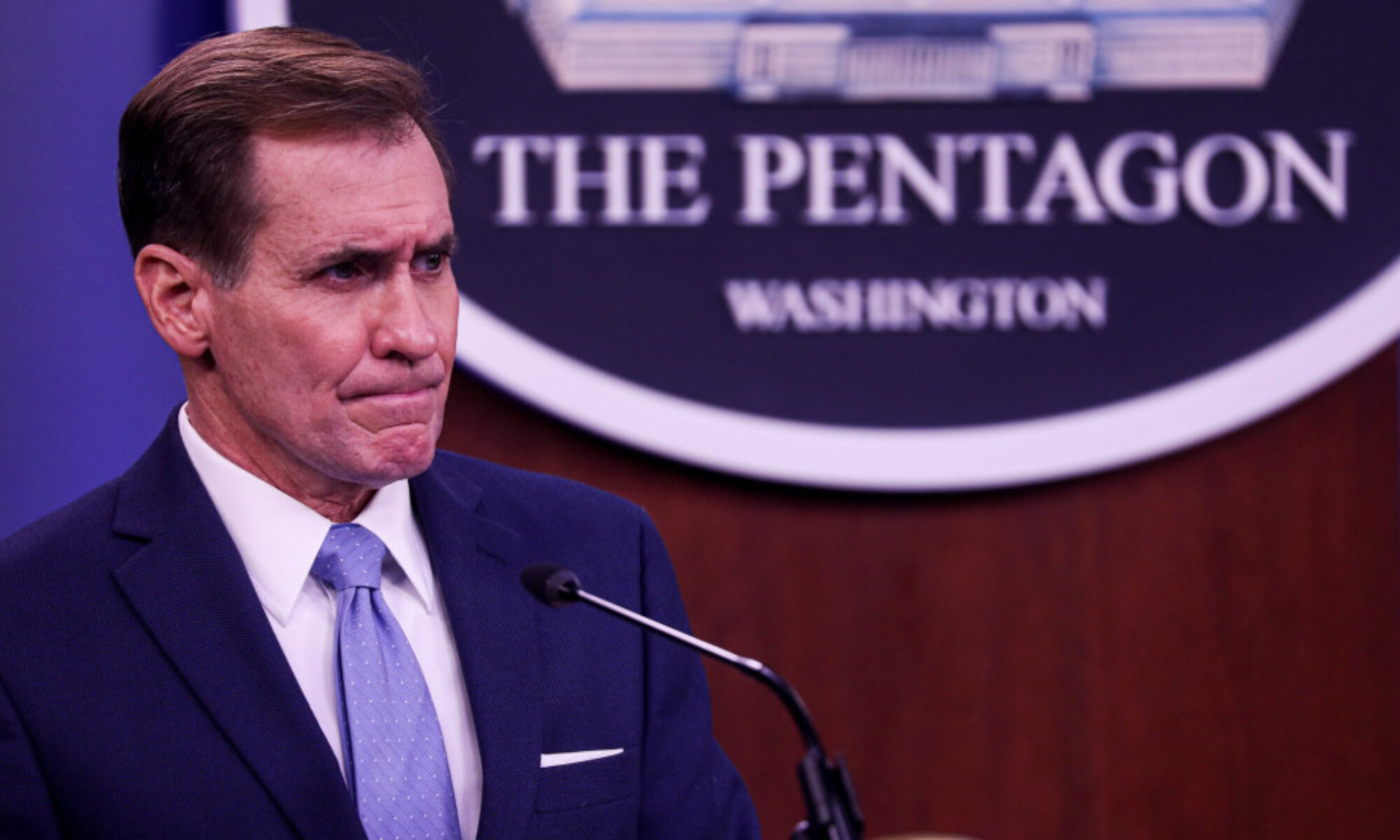 Pentagon sözcüsü Kirby: Erbil saldırısına doğru zaman ve doğru yerde karşılık vereceğiz