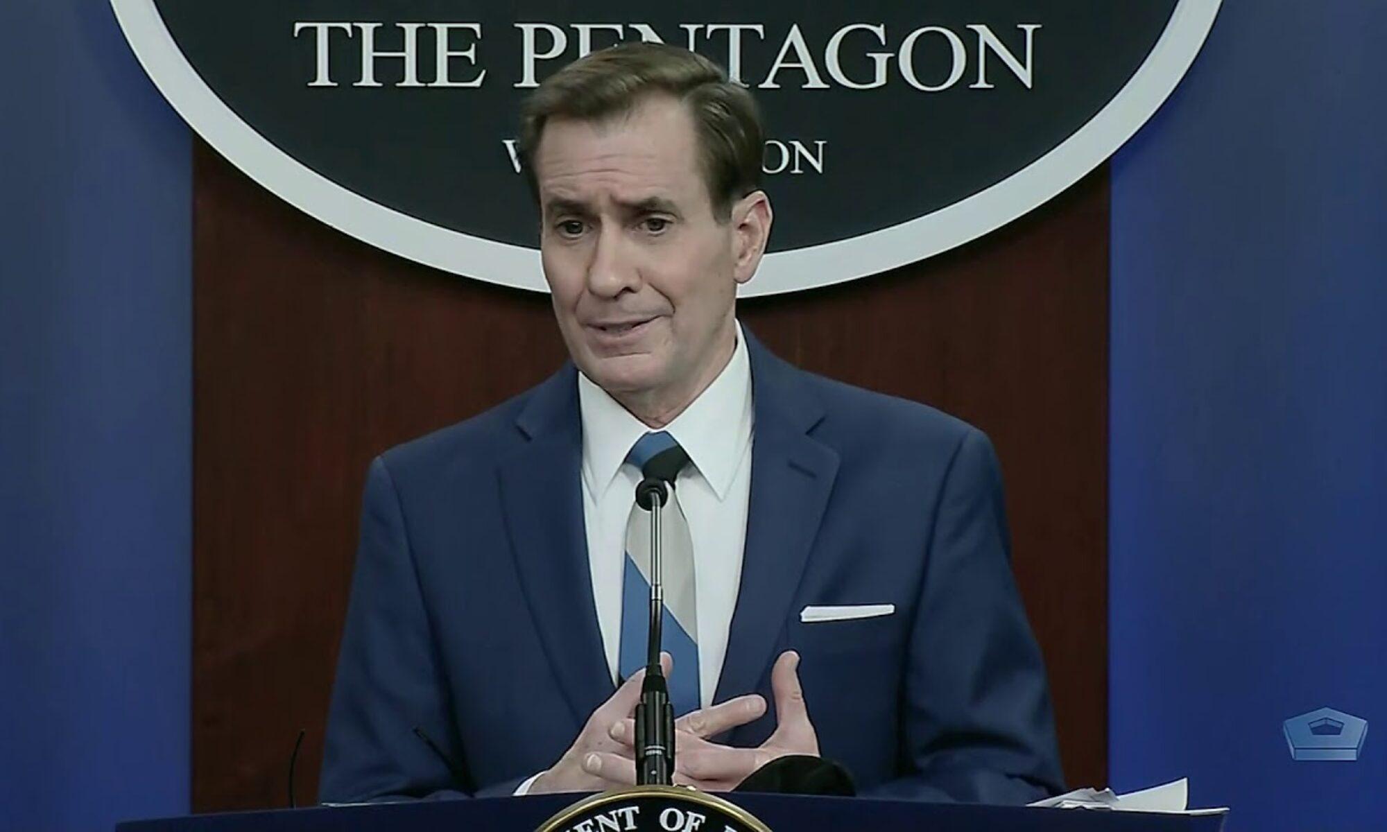 Pentagon sözcüsü Kirby: Türkiye'yi S-400'leri elinde tutmamaya çağırıyoruz