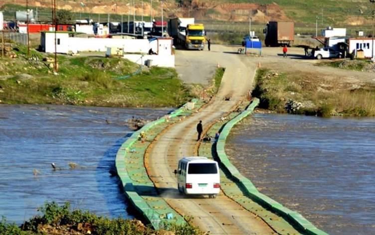 Pêşabur-Sêmalka sınır kapısı elektronik sistemin değiştirilmesi nedeni ile geçişlere kapatıldı