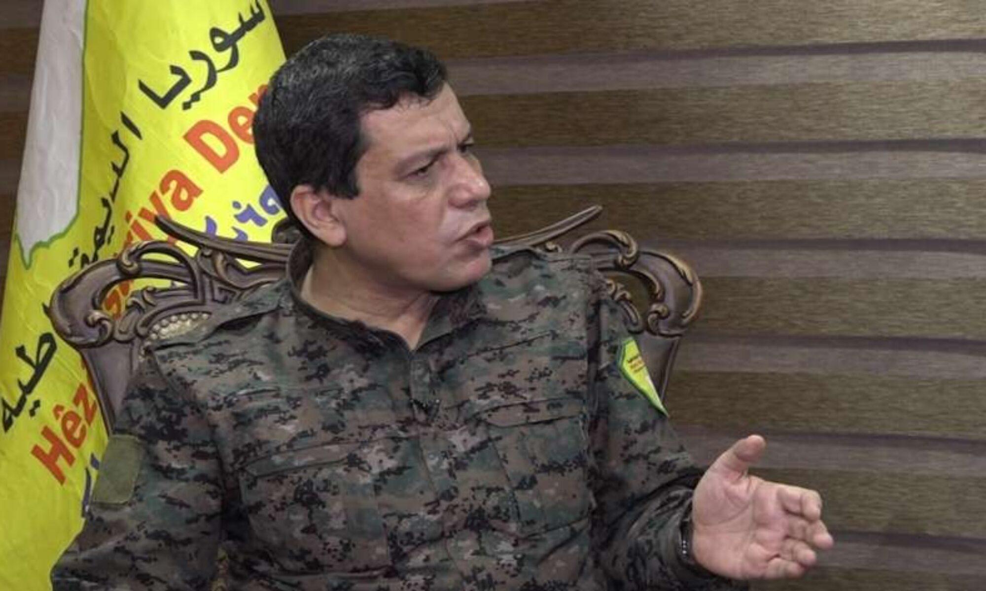 """Mazlum Abdi'den çağrı: """"Farklılıklarınızı bir kenara bırakın ve Kürtlerin birleşmesi sürecinin başarısı için esneklik gösterin"""""""