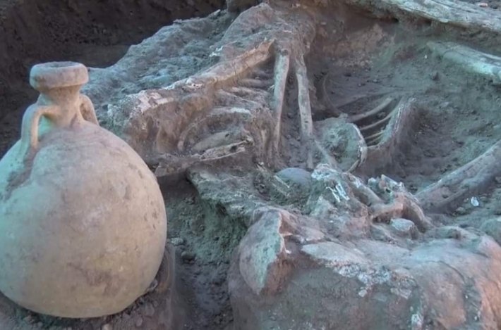 Kürdistan Bölgesi'nin Kelar kentinde millattan öncesine ait mezarlar bulundu