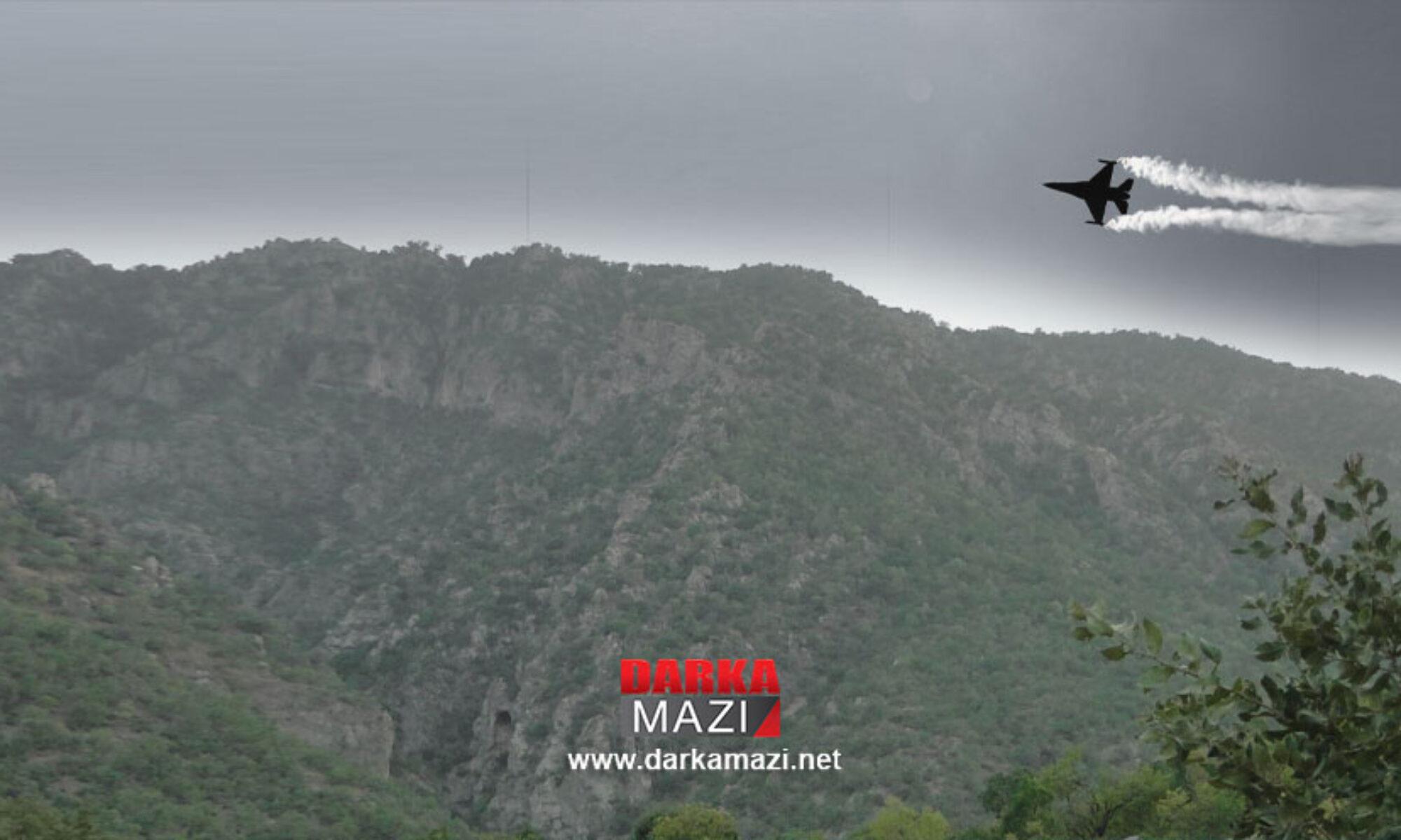 Türk savaş uçakları Berwari Bala bölgesini hedefledi