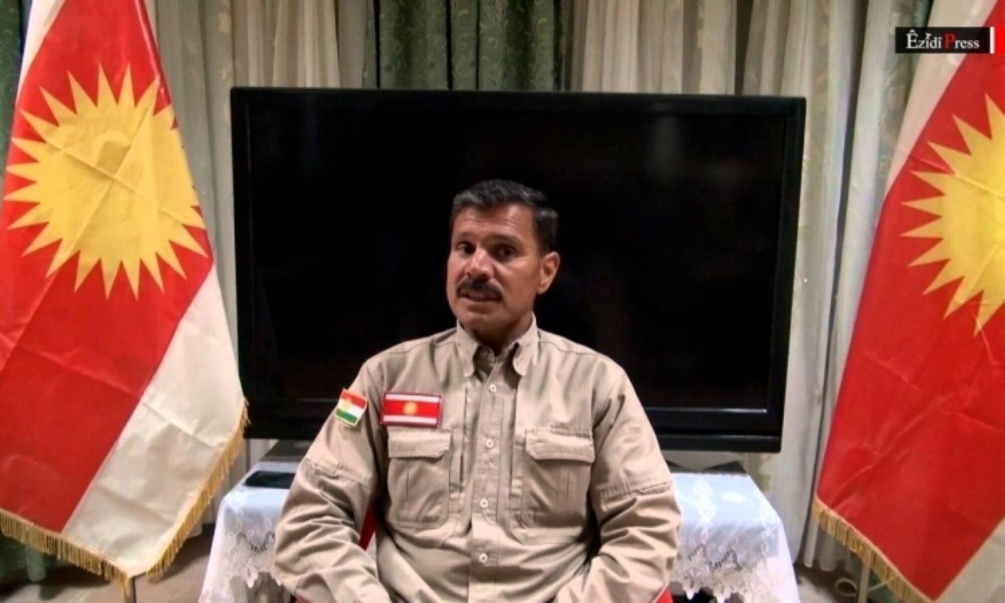 Heyder Şeşo: PKK'nin Şengal'de ki varlığı bir Türkiye operasyonuna yol açıyor