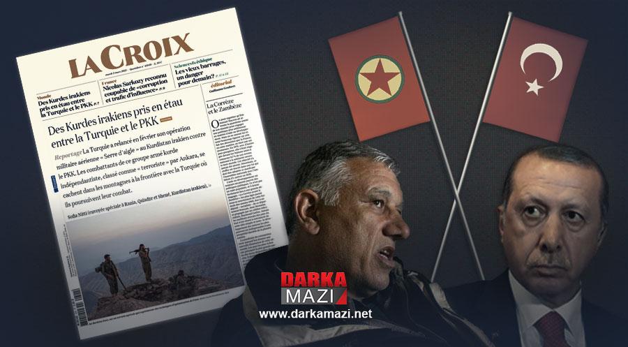 Fransız gazetesi La-Croix: PKK ve Türkiye savaşının kurbanları Iraklı Kürtler