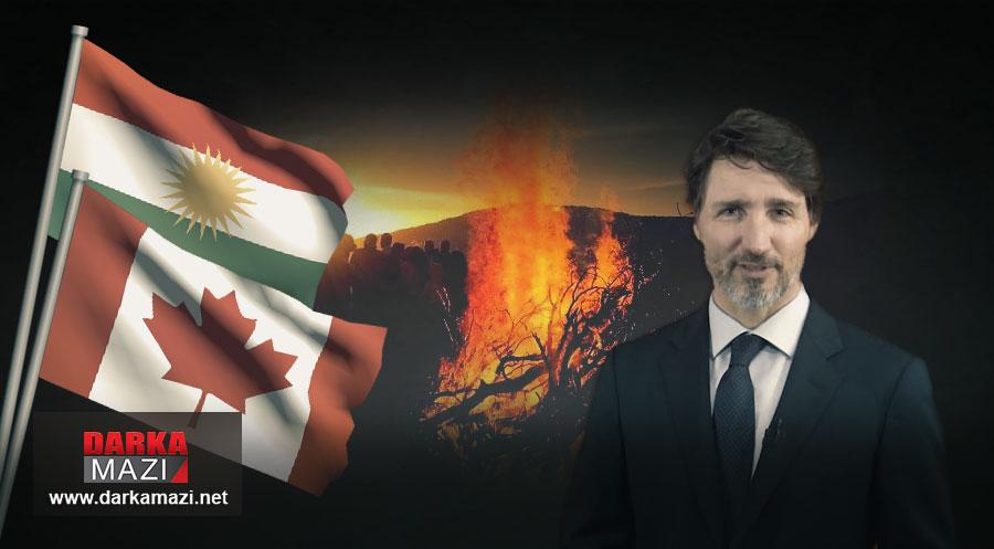 Kanada Başkanı Trudeau: Newroz pîroz