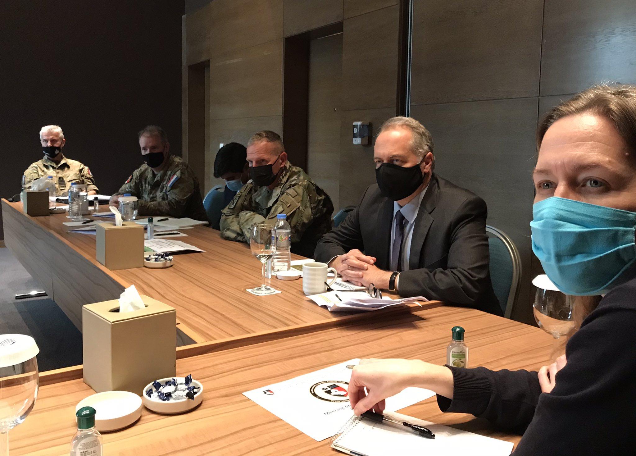 Uluslararası Koalisyon ve Peşmerge temsilcileri reformları konuştu