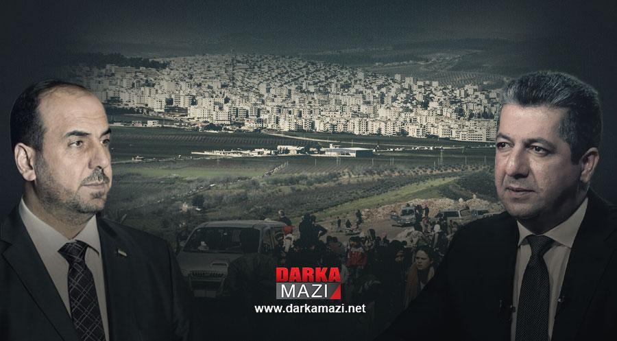Mesrur Barzani: Efrin'de yaşanan hak ihlalleri kabul edilmezdir