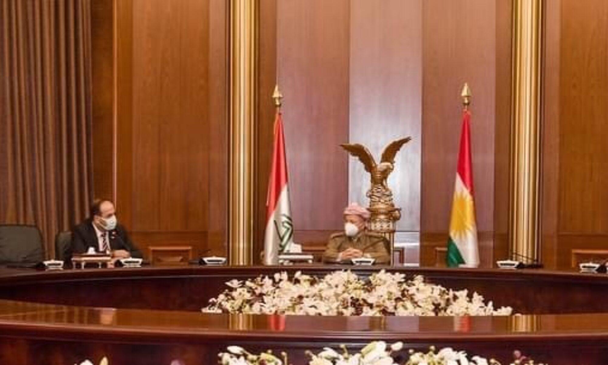 Mesrur Barzani: Afrin'de yaşananlar kaygı verici