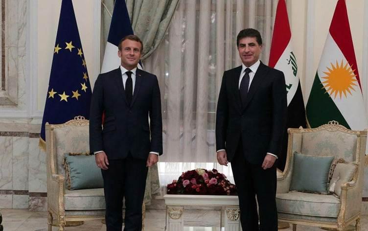 Önemli görüşme: Neçirvan Barzani Paris'te