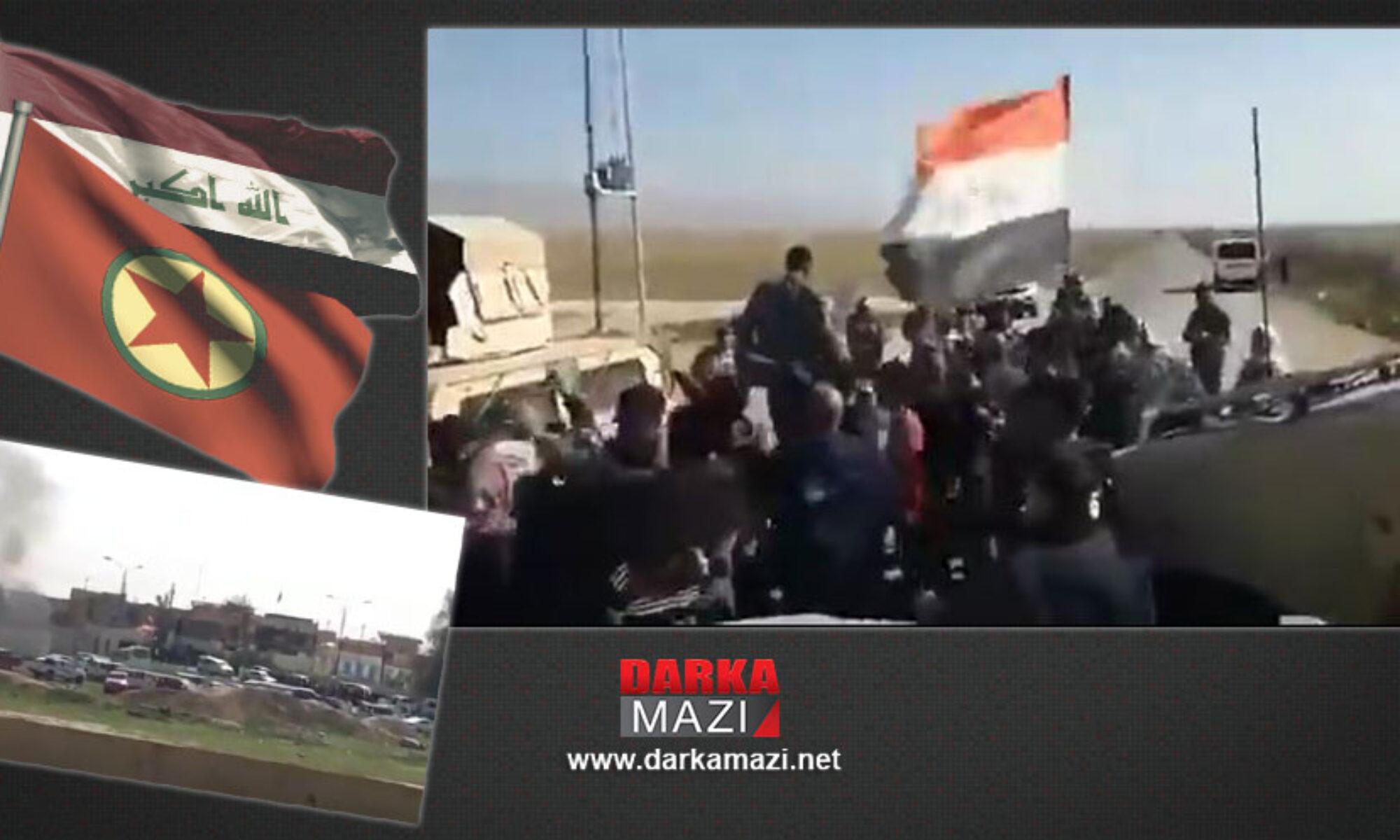 Şengal'de PKK ve Irak ordusu arasında imtiyazlar kavgası yaşandı Haşdi Şabi, Ezidxan Asayişi, Sinune