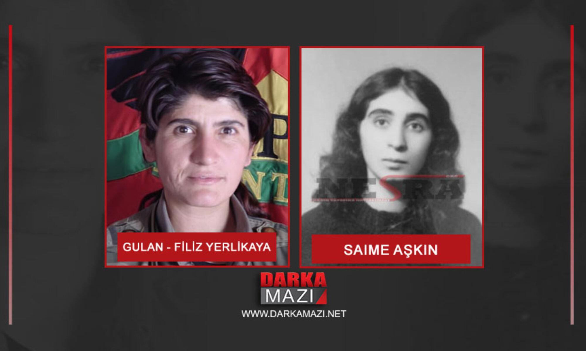 İlk öykü: Kürdistan'ın Rosa Lüksenburg'u Saime Aşkın idam edilirken neler söyledi? Filiz Yerlikaya Gulan Garzan, Delal, Lolan, Beka, Avrupa, özel Kuvvetler, MİT , Türkiye Devleti, Ajan, tasfiyeci, Abdullah Öcalan, Lübnan, Kesire Öcalan, Fatma