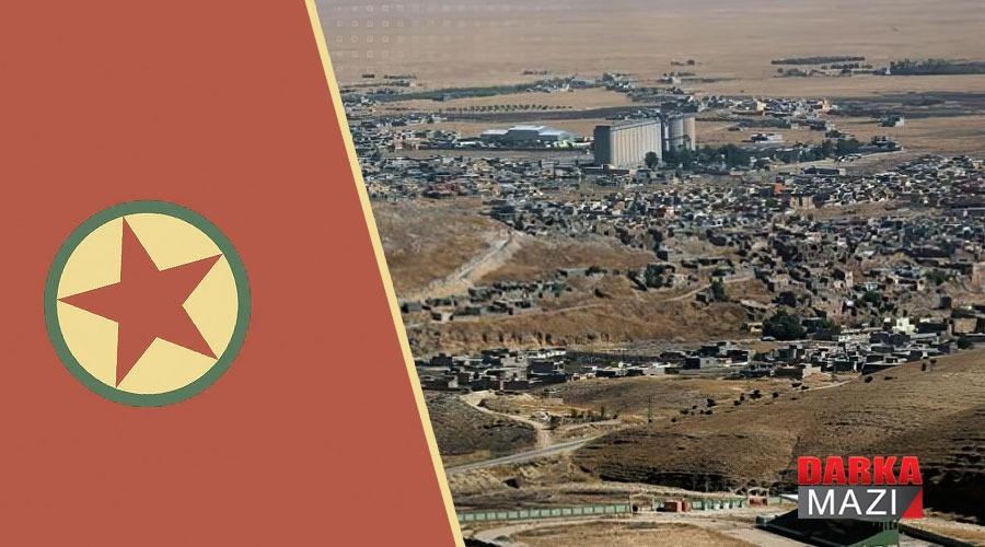Şengal'de ki PKK güçleri mahallelerdeki halkın jeneratörlerine el koydu