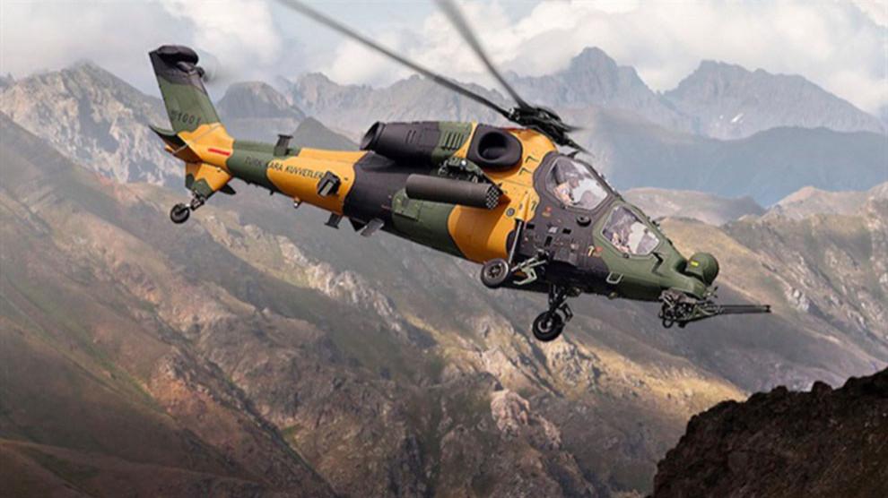 TSK helikopteri Sidekan'da sivilleri vurdu, yaralılar var