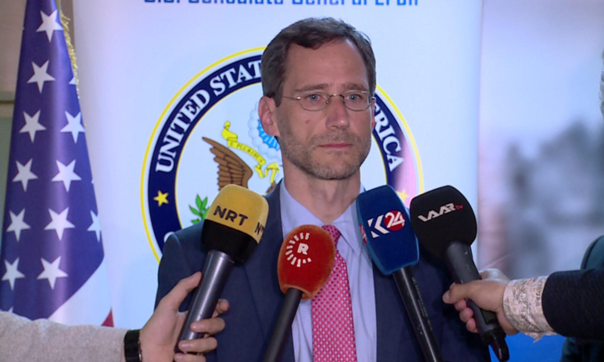 Bakan Yardımcısı Hood: Gelecek yıl Newroz'u Kürdistan'da sizlerle kutlamayı ümit ediyorum