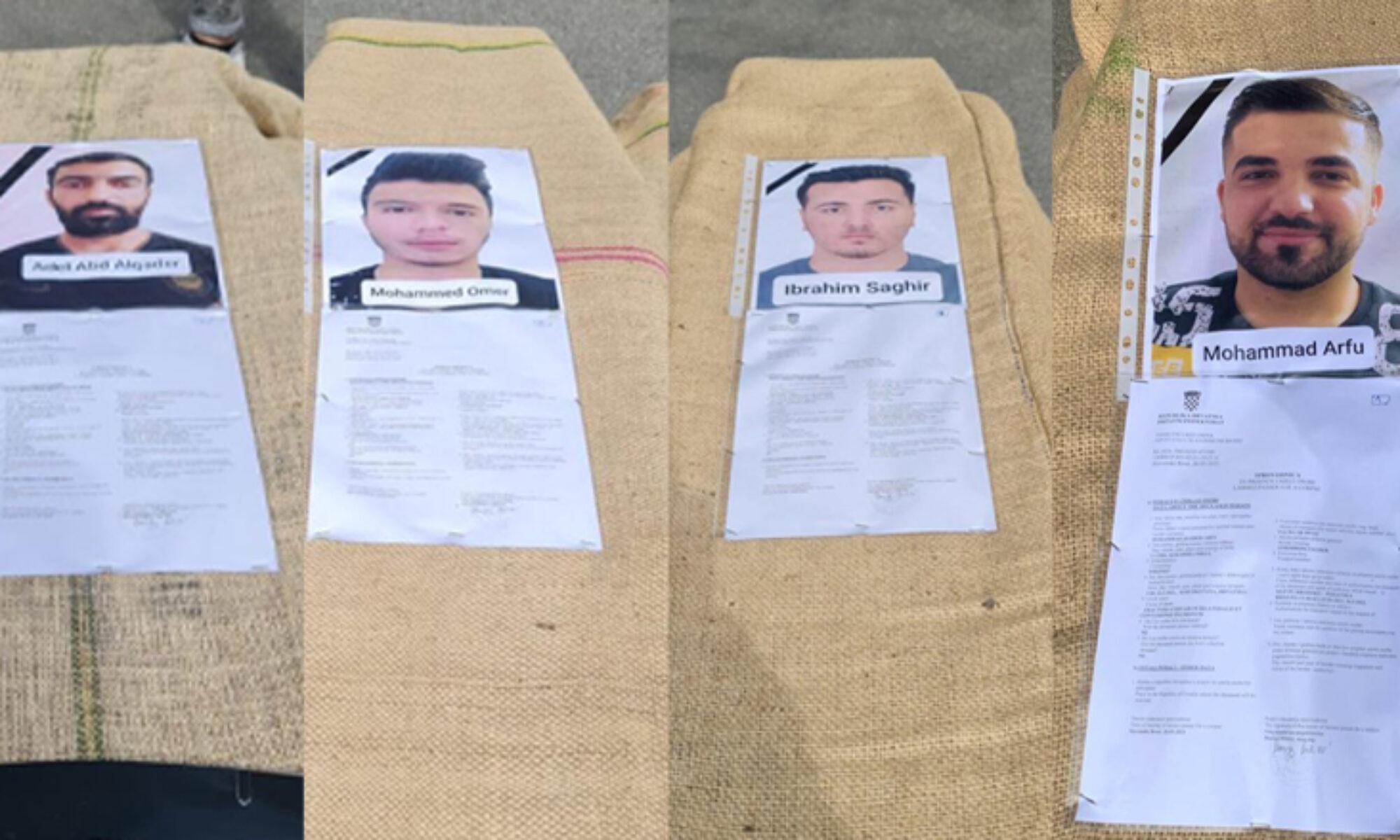 4 Rojavalı mültecinin cenazesi Kürdistan Bölgesi'nde