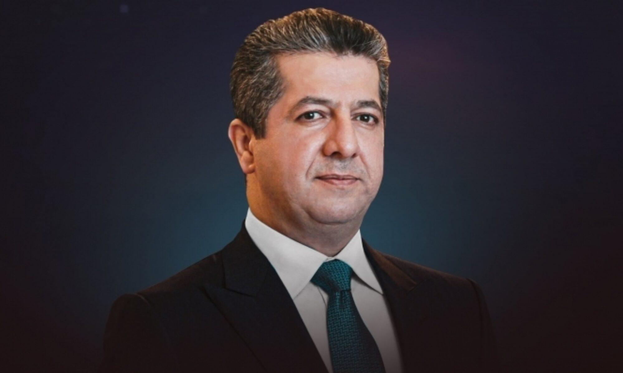 Başbakan Mesrur Barzani'den Prens Philip için başsağlığı mesajı