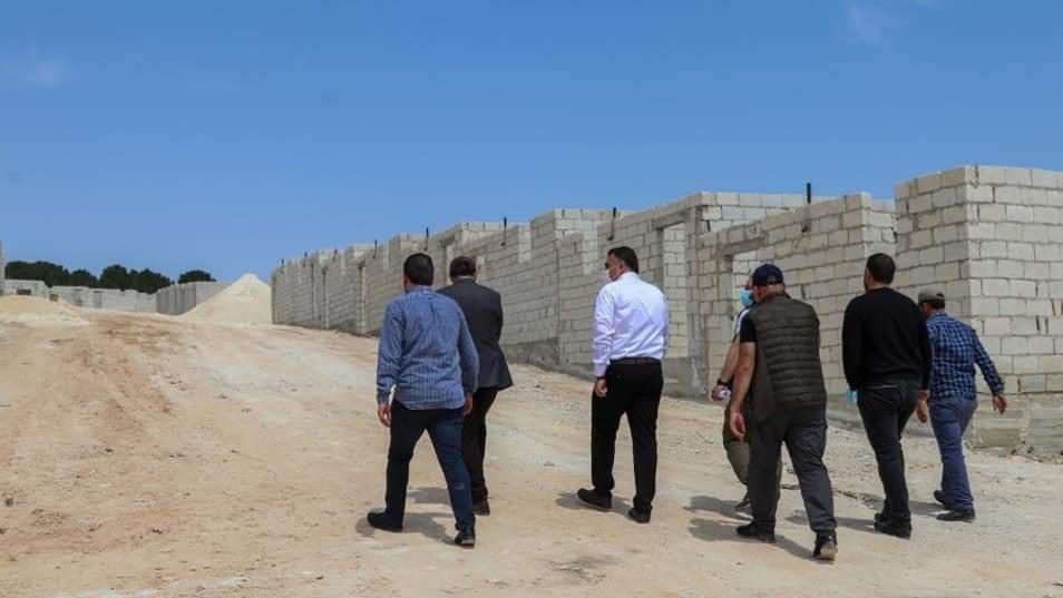 Türkiye Efrin'in demografisini değiştirme çabalarına hız veriyor : Araplar için konutlar yapılıyor