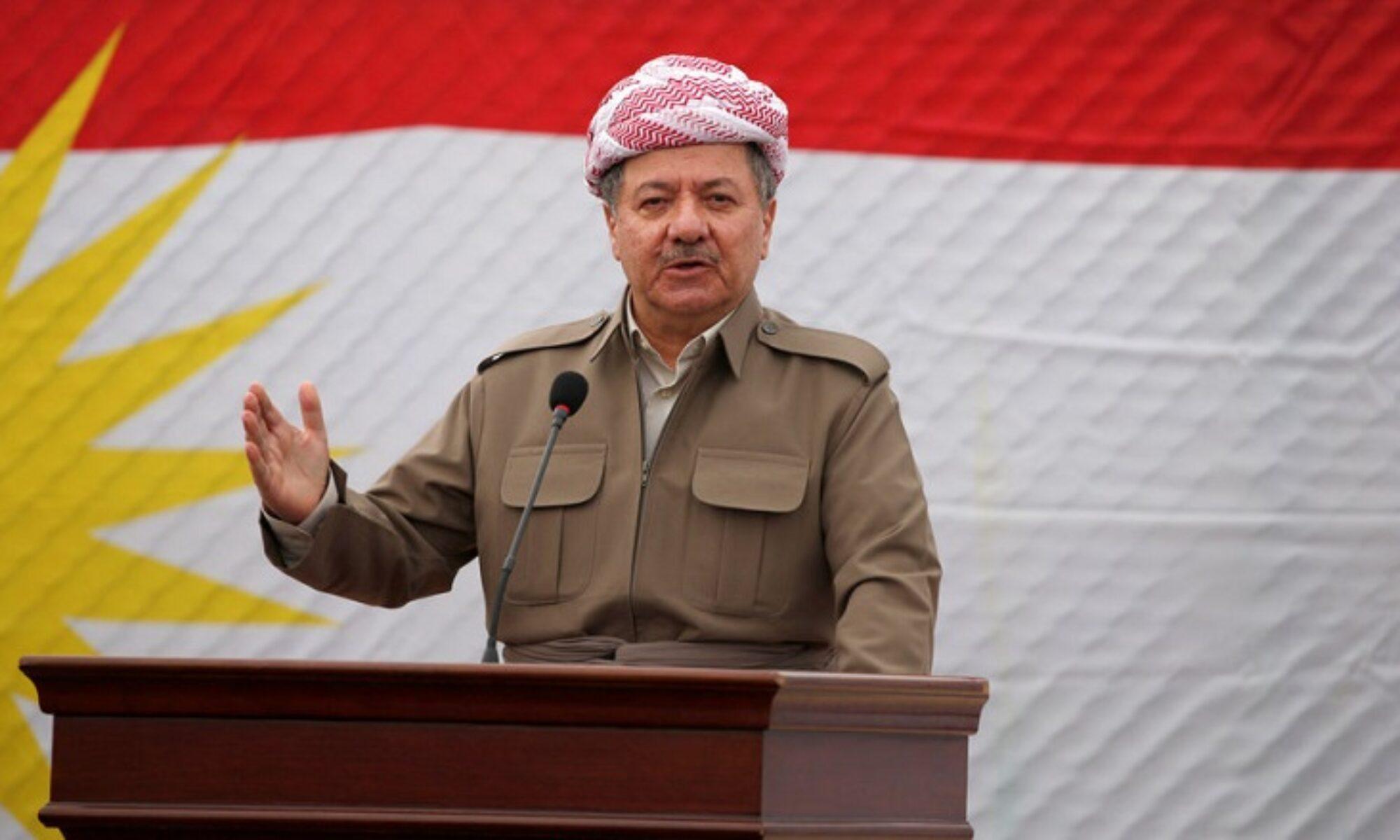 """Barzani Baas katliamının yıl dönümünde konuştu: """"Qeladizê, Kürt ve Kürdistan şehitlerinin temiz canlarına binlerce selam olsun"""""""