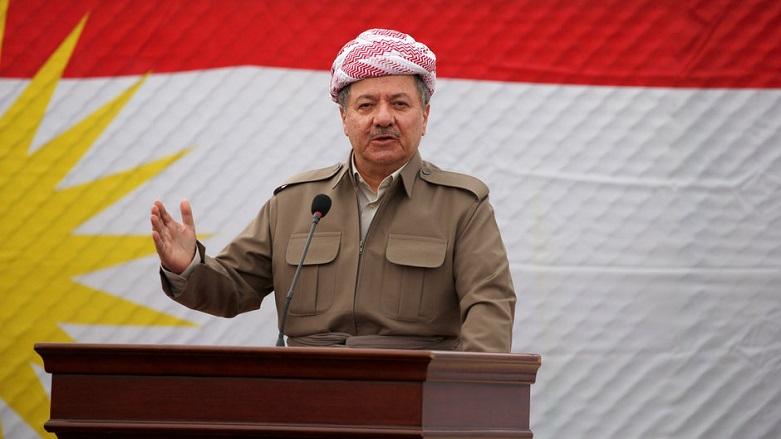 """Barzani Baas katliamının yıl dönümünde konuştu:""""Qeladizê, Kürt ve Kürdistan şehitlerinin temiz canlarına binlerce selam olsun"""""""