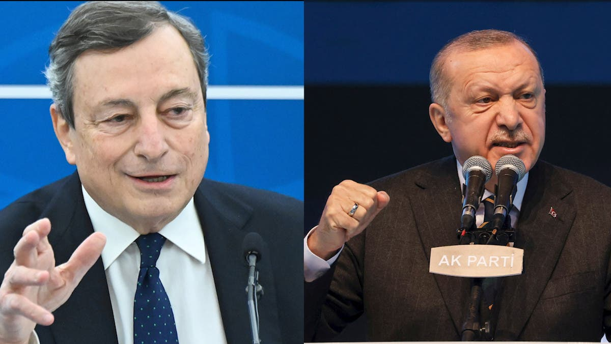 Erdoğan'dan İtalyan Başbakanı Draghi yorumu: Densizlik, terbiyesizlik