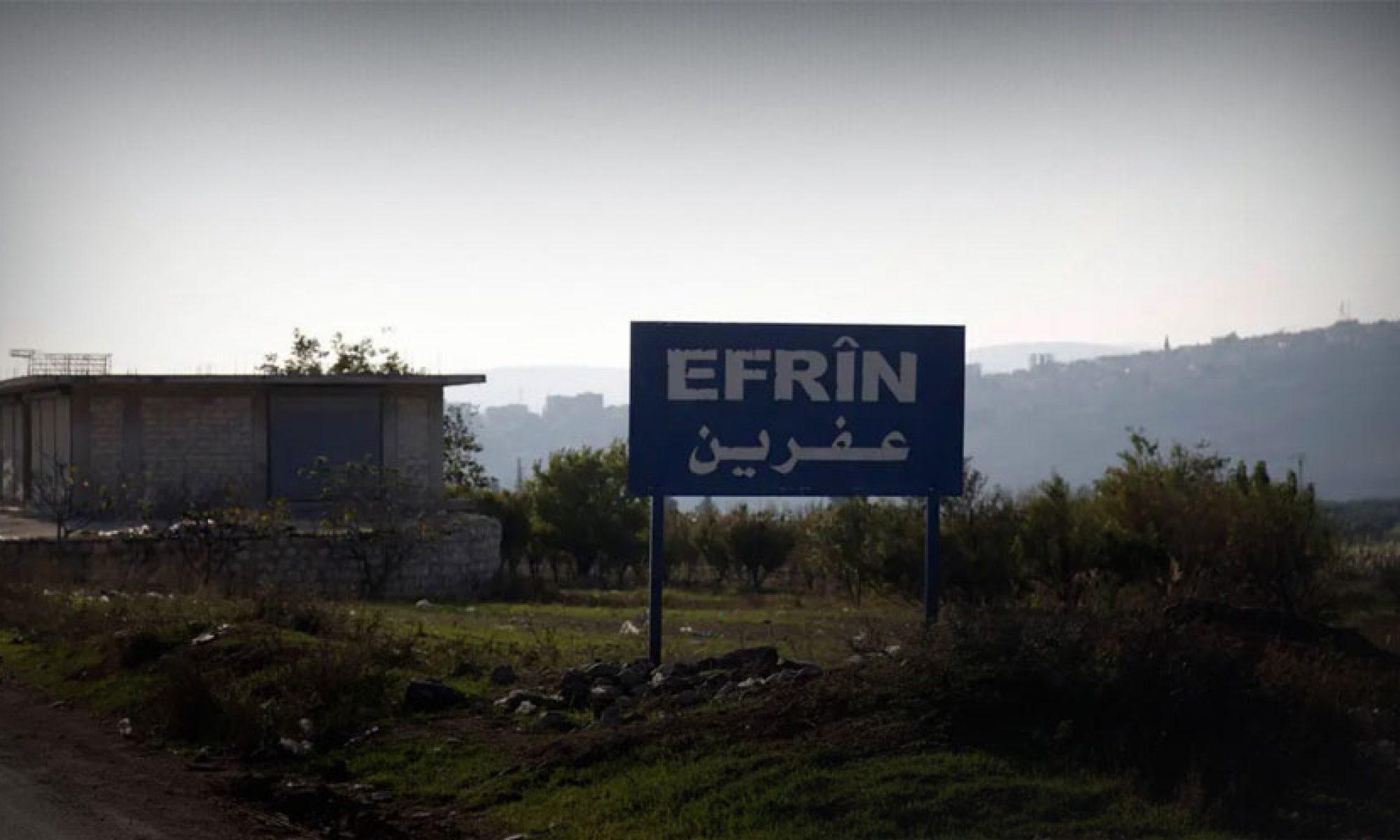Efrin'de Kürtlerin arazisine el konudu, Türkmenler ve Araplar için konut yapılıyor Şiye
