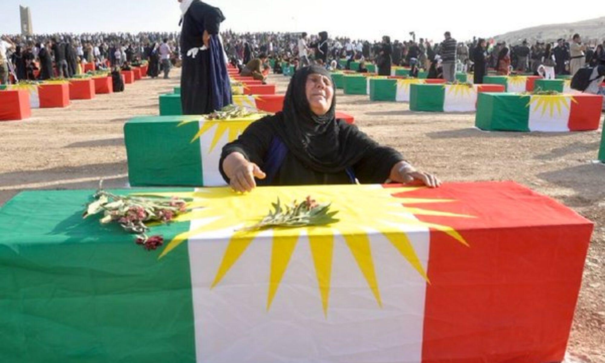 Bu gün Kürt tarihin en acı sayfalarından Enfal'in 33'üncü yıl dönümü Saddam, Ali Kimyevi, Germiyan, Baas, Kuran Behdinan, cefayeti, Rewanduz, Qaladize, Ranya, Germiyan,