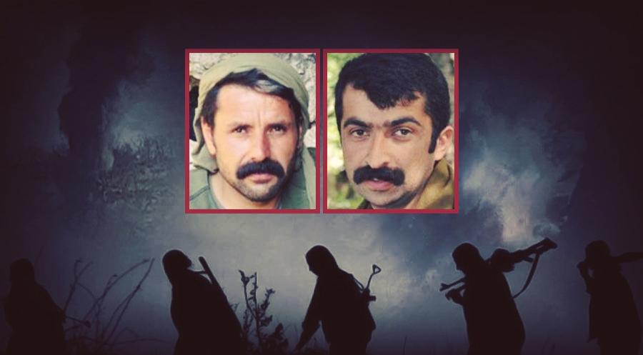 """TSK Bagok dağında 2'si yönetici 6 gerillanının hayatını kaybettiğini iddia etti """"Hevram Havraman Avyer' kod adlı Hasan Mahmudi olduğu belirlendi.'Turuncu' kategoride ise örgütün Mardin Bagok alan sorumlusu olarak faaliyet gösteren'Reber Koser' kod adlı Teyyüp Çam"""