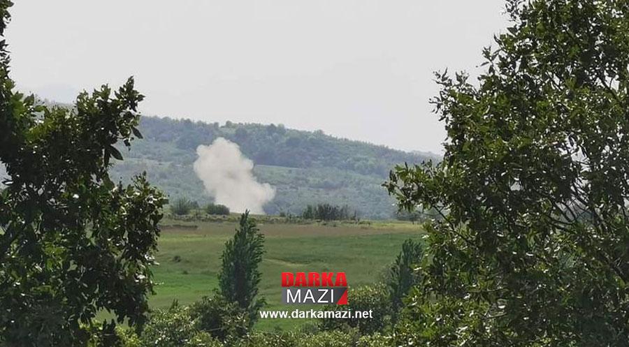 PKK ve Türkiye çatışmaları yine halkı vurdu: Kani Masi'de 1000 dönüm arazi zarar gördü