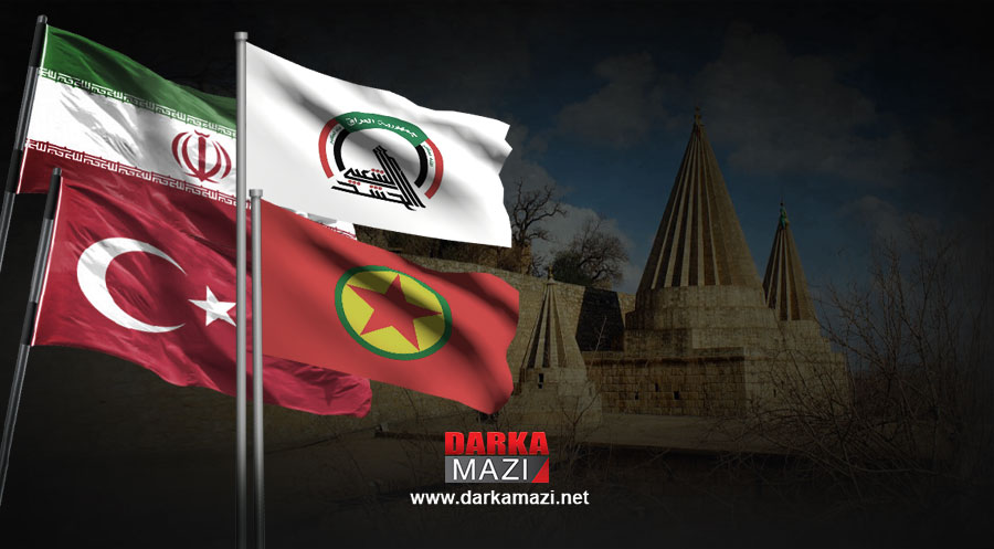 Şengal'de neler oluyor?Kays Xazali, Ebu Fedek, Cemil Bayık, Haşdi Şabi, Necubba Hareketi, Şengal, HPG, YPG, PKK, KCK, PYND, ENKS,