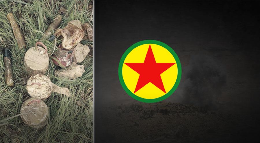 PKK sivil alanları mayınlamaya devam ediyor