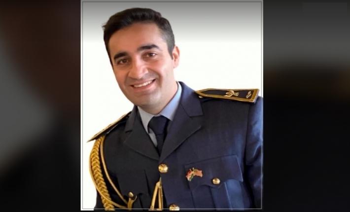 İlk kez bir Peşmerge Komutanı ABD'nin Scholl Askeri Yüksek Okulundan mezun oldu Husen Mehdi Reşid