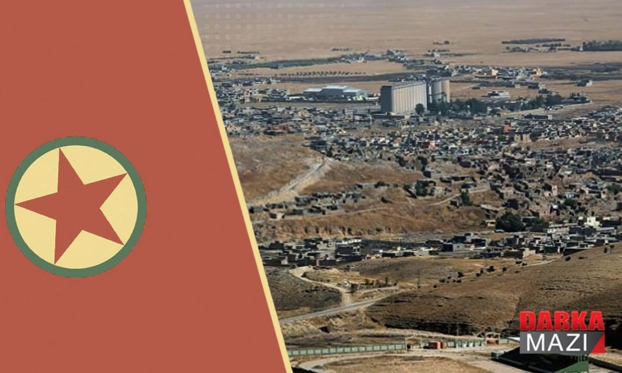 PKK Şengal'de kendisi ile yollarını ayırmak isteyen kişilere el koyuyor