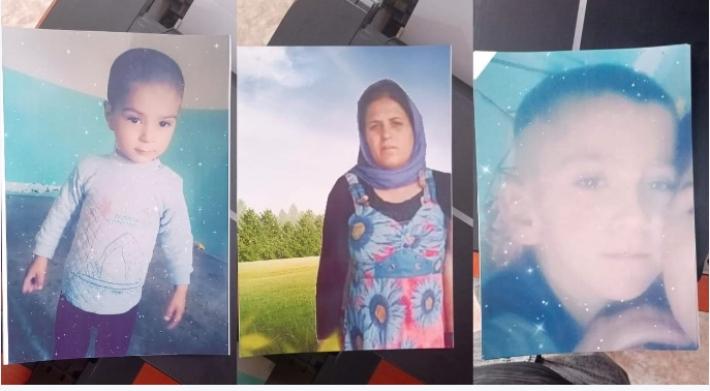 Şengal'de bir anne ve 2 oğlu 6 gündür kayıp