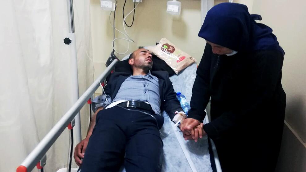 Polis Şenyaşar ailesine saldırdı, Ferit Şenyaşar hastaneye kaldırıldı Urfa Adliyesi Adalet Nöbeti,