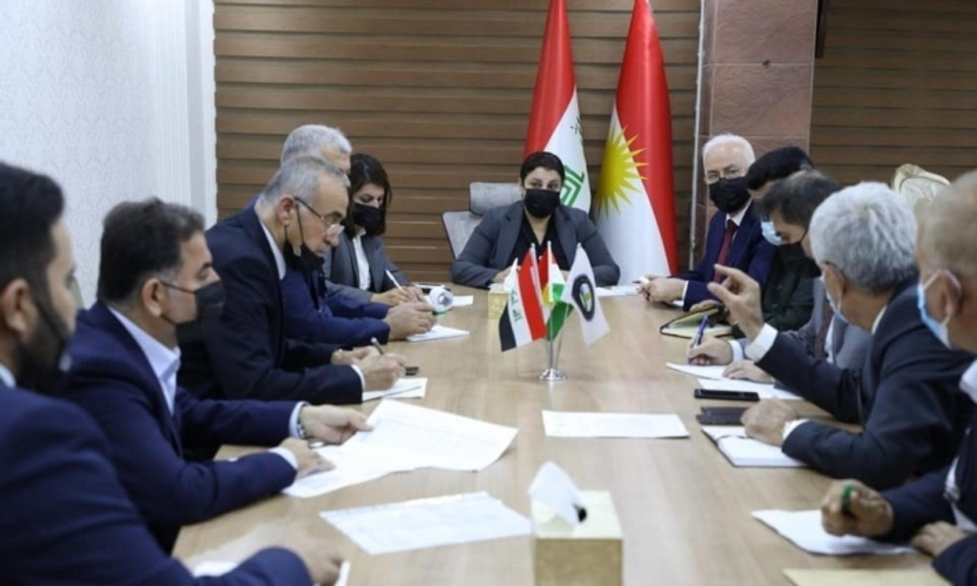 Kürdistan Tarım ve Su İşleri Bakanlığı 5 şirket ile anlaşma yaptı
