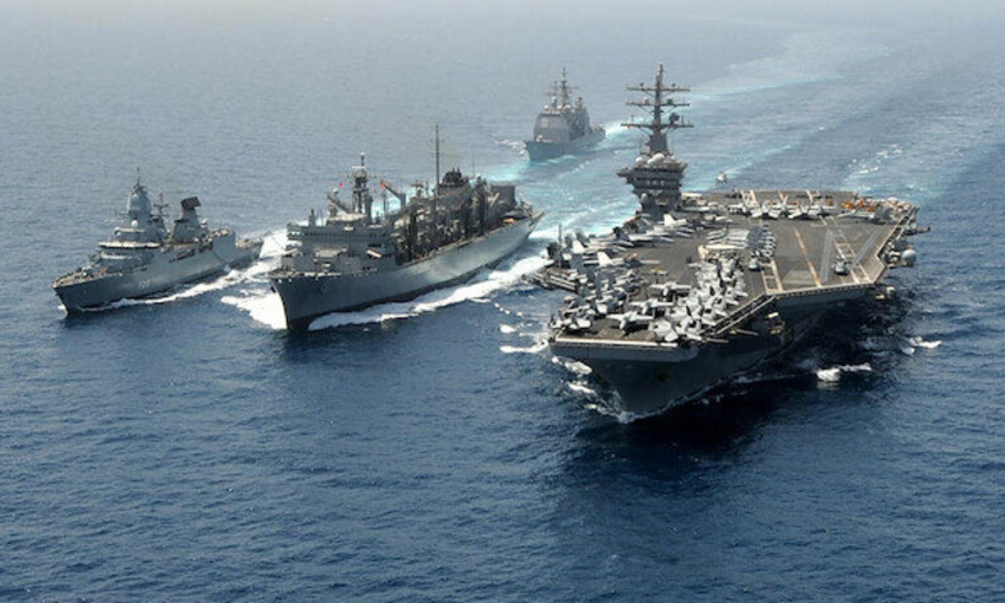 ABD donanmasından İran'a ait gemilere uyarı ateşi